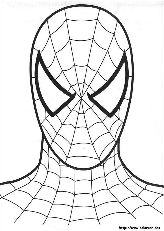 Dibujos De Spiderman Para Colorear El Hombre Arana Para Ninos